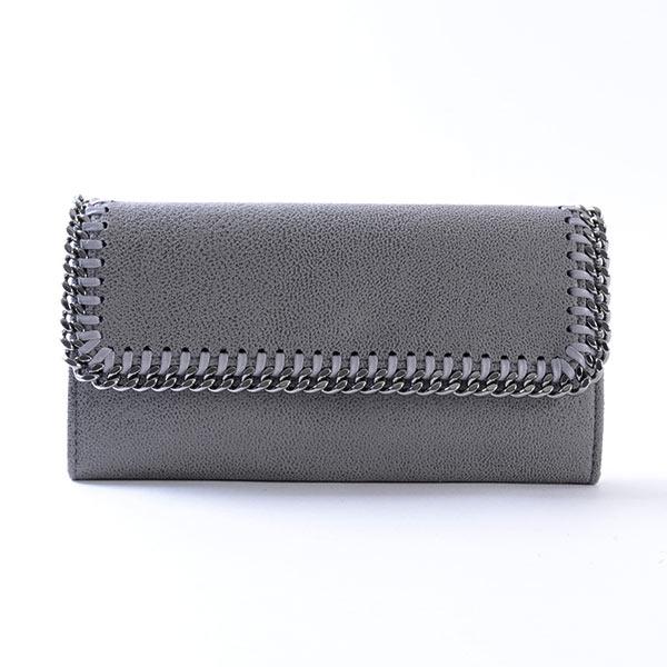ステラマッカートニー Stella McCartney ファラベラ 2つ折り式財布 430999 中古A品