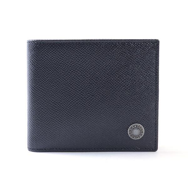 ドルチェアンドガッバーナ DOLCE & GABBANA 2つ折り式財布 BP0437-B1001 中古A品