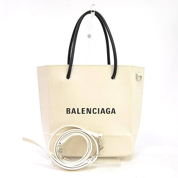 バレンシアガ BALENCIAGA ショッピングトートバッグXXS 528655 中古A品