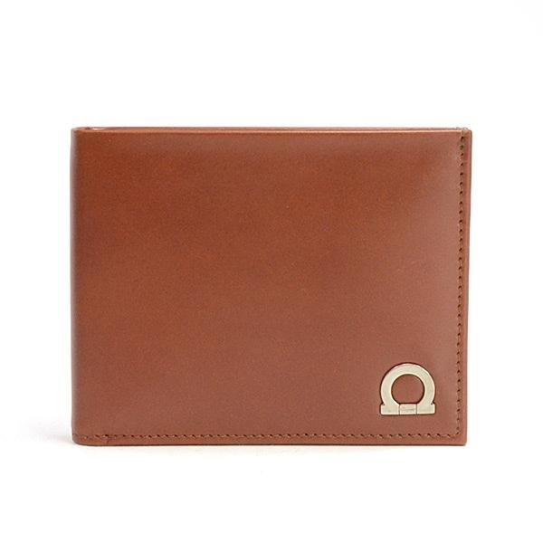 フェラガモ Ferragamo 2つ折り式財布 JL-66 8670 中古a品