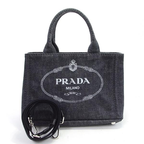 プラダ PRADA ミニカナパトート 1BG439 中古A品