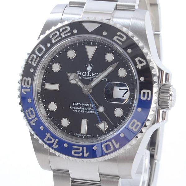 ロレックス ROLEX GMTマスター2 116710BLNR 中古A品