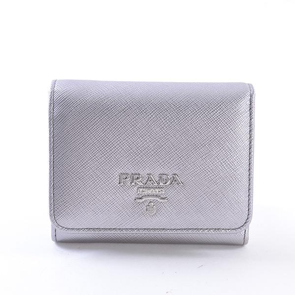 プラダ PRADA 3つ折り式財布 1MH176 未使用品