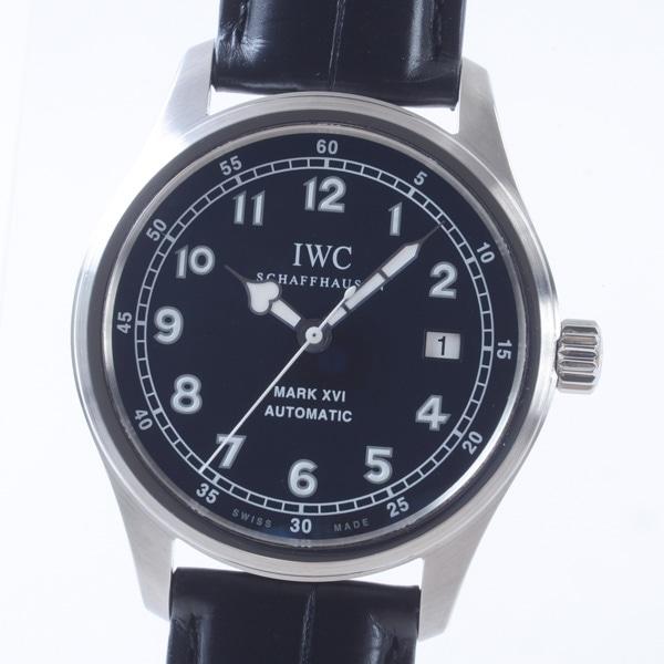 アイダブリュシー IWC マークXVI 日本限定 IW325516 中古A品