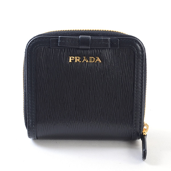 プラダ PRADA ラウンドファスナー式財布 1ML522 未使用品