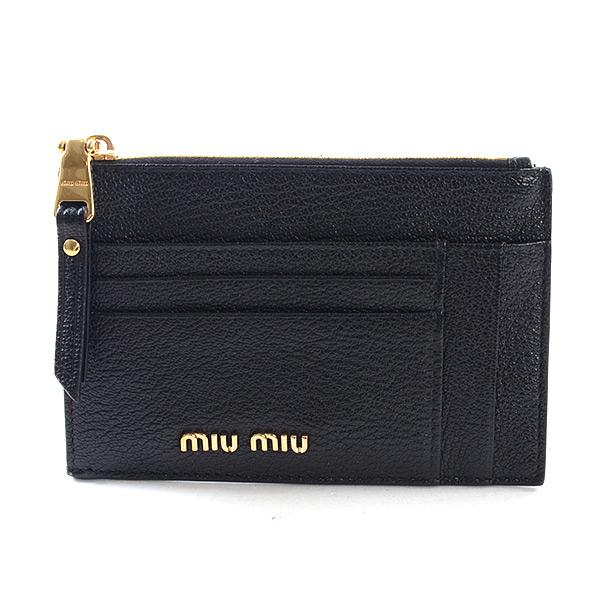 ミュウミュウ MIUMIU カードケース 5MC446 中古A品