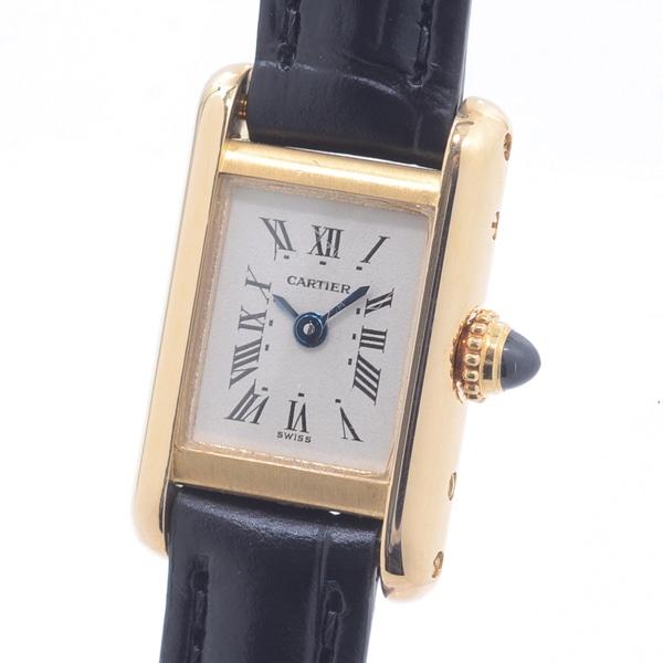 カルティエ Cartier ミニタンク W1501856 中古A品