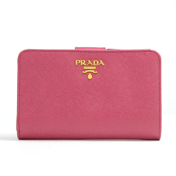 プラダ PRADA L字ファスナー二つ折り財布 1M1225 中古A品