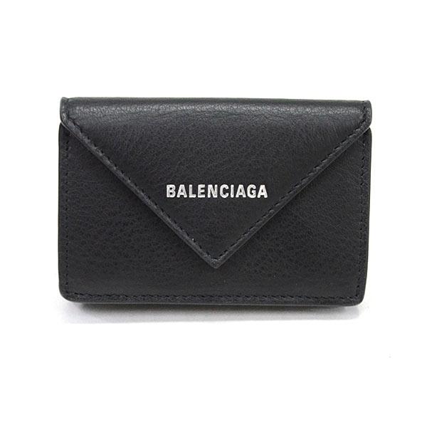 バレンシアガ BALENCIAGA ペーパーミニウォレット 391446 未使用品