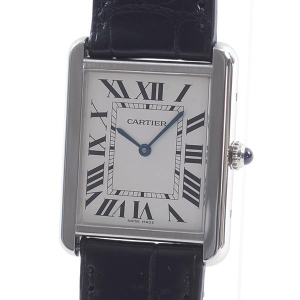 カルティエ Cartier タンクソロLM W1018355 中古A品