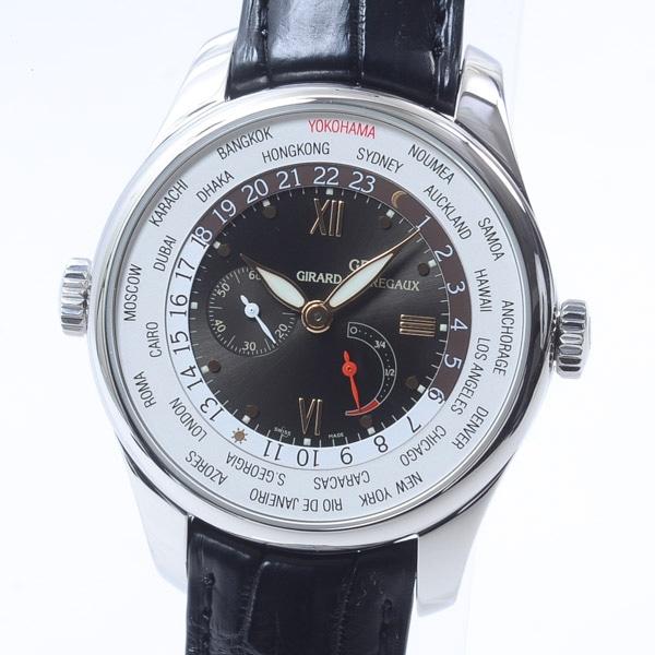 ジラールペルゴ GIRARD-PERREGAUX WW.TC フランソワ・ペルゴ トリビュート YOKOHAMA 49851 中古A品