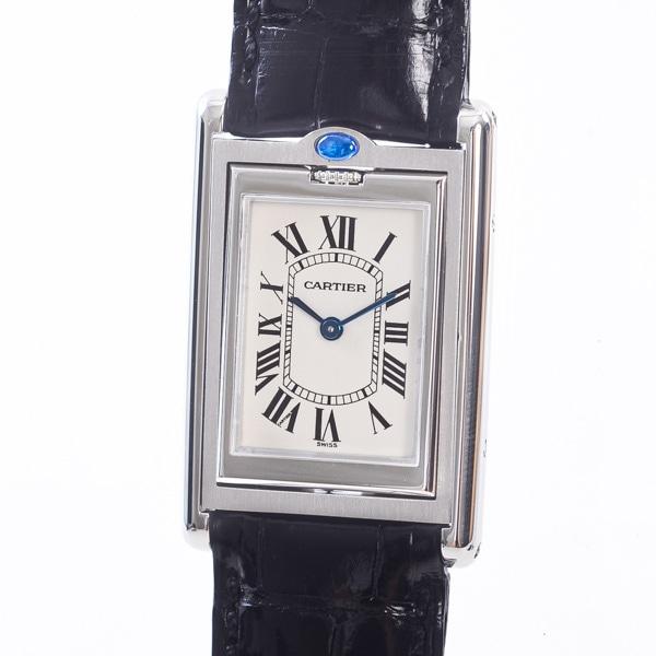 カルティエ Cartier タンクバスキュラントSM W1011158 中古A品