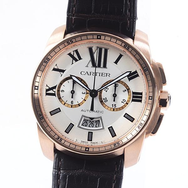 カルティエ Cartier カリブル・ドゥ・カルティエ クロノグラフ W7100044 中古A品