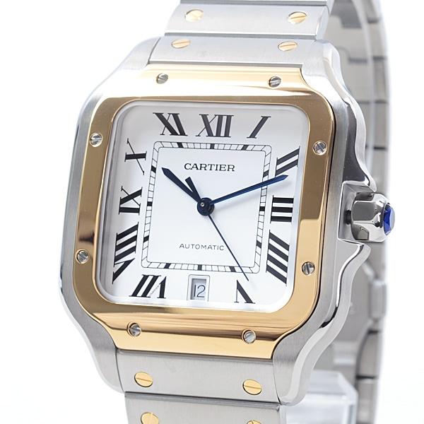 カルティエ Cartier サントスLM W2SA0006 中古A品