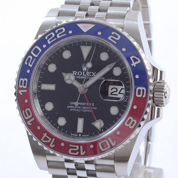 ロレックス ROLEX GMTマスター2 126710BLRO 中古A品