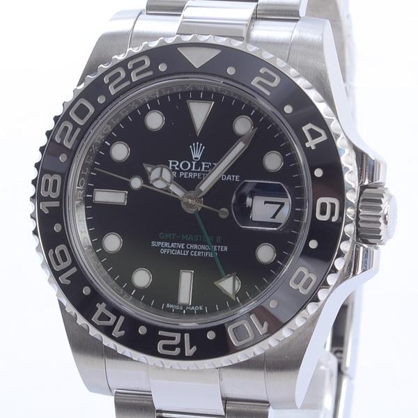 ロレックス ROLEX GMTマスター2 116710LN 中古A品