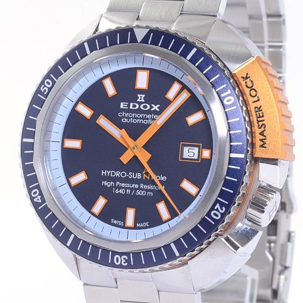 エドックス EDOX ハイドロサブ ノースポール リミテッドエディション 80201-3BUO-BU 中古A品
