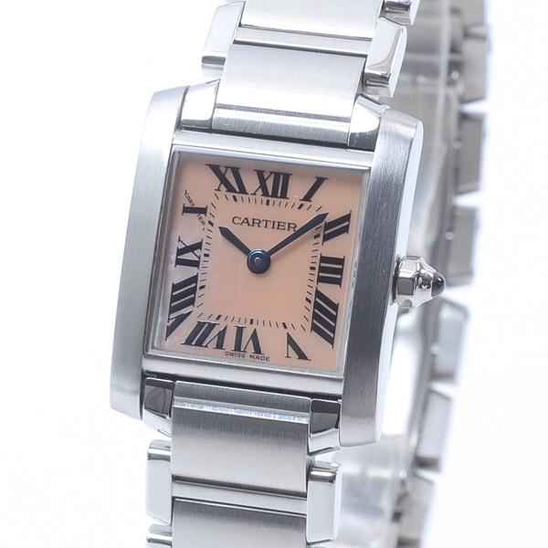 カルティエ Cartier タンクフランセーズSM W51028Q3 中古A品