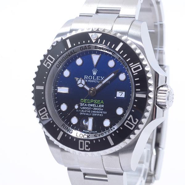 ロレックス ROLEX ディープブルー 116660 D-BLUE 中古A品