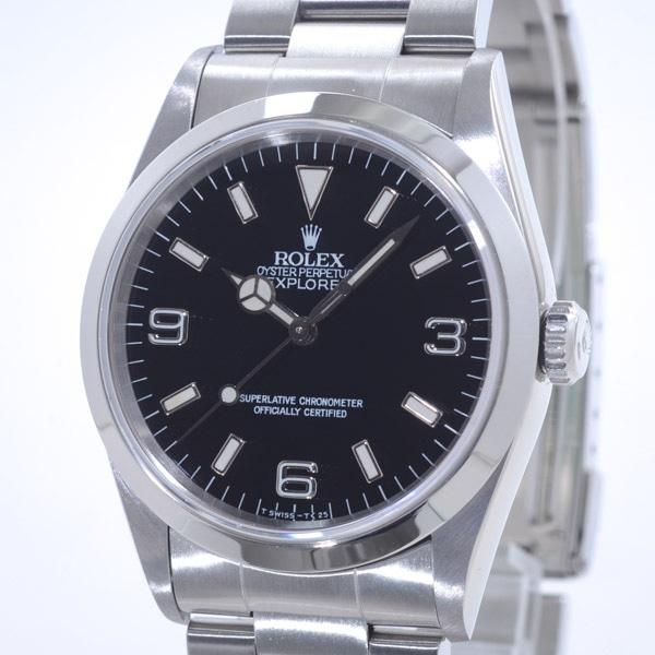 ロレックス ROLEX エクスプローラー1 14270 中古A品