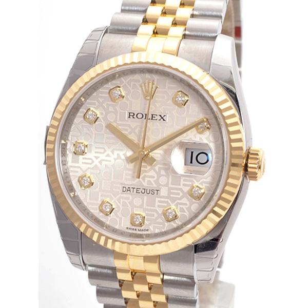 ロレックス ROLEX オイスターパーペチュアルデイトジャスト 116233G 新品