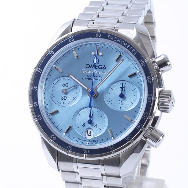 オメガ OMEGA スピードマスター38 コーアクシャル クロノグラフ 324.30.38.50.03.001 新品
