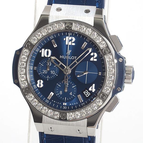 ウブロ HUBLOT ビッグ・バン スチール ブルー ダイヤモンド 341.SX.7170.LR.1204 新品