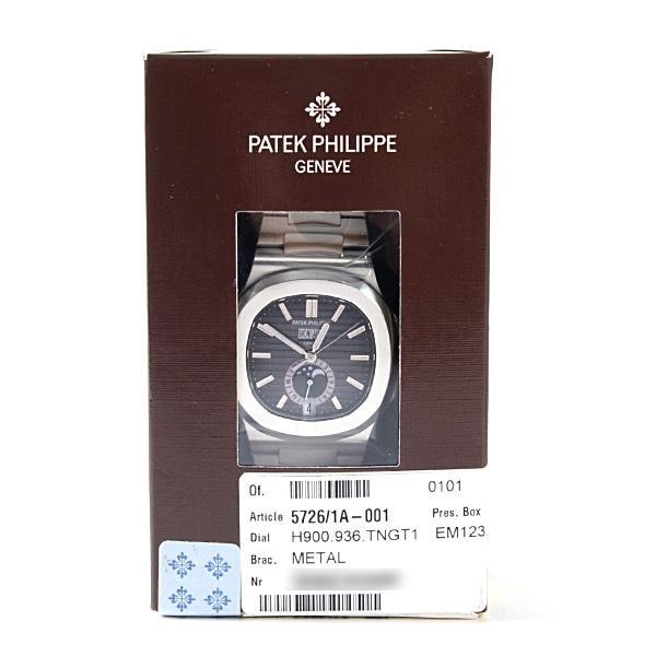 パテックフィリップ PATEKPHILIPPE ノーチラス アニュアルカレンダー 5726/1A-001 新品