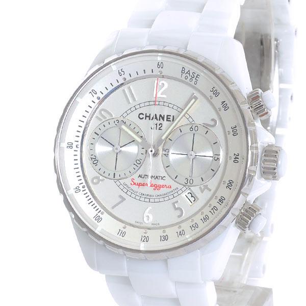 シャネル CHANEL J12 クロノグラフ スーパーレッジェーラ 41mm H3410 新品