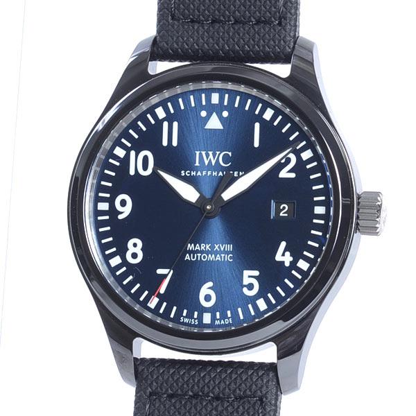 アイダブリュシー IWC パイロットウォッチ マーク18 ローレウススポーツフォーグッド IW324703 新品