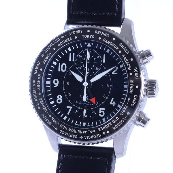 アイダブリュシー IWC パイロットウォッチ タイムゾーナー クロノグラフ IW395001 新品