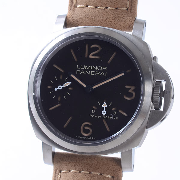 パネライ PANERAI ルミノール 8デイズ パワーリザーブ チタニオ PAM00797 新品