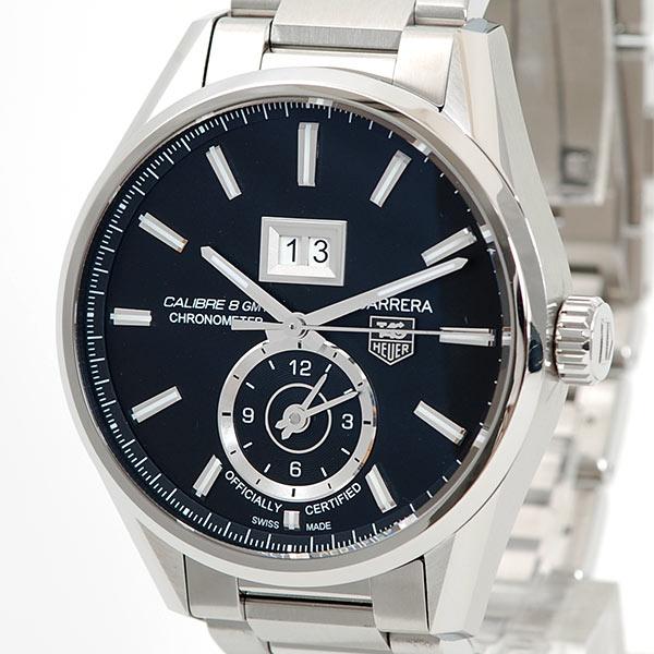 タグホイヤー TAG Heuer カレラ グランドデイト GMT WAR5010.BA0723 新品