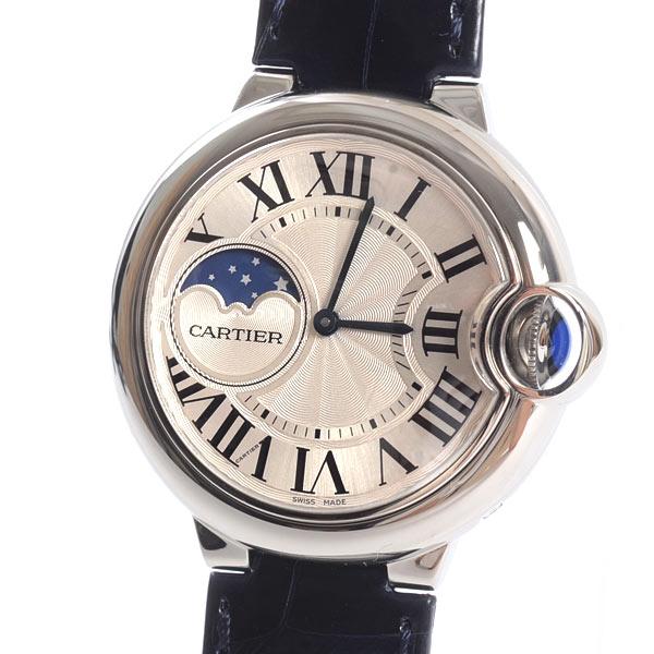 カルティエ Cartier バロンブルー 37mm ムーンフェイズ WSBB0020 新品