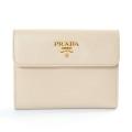 プラダ PRADA Wホック式財布 1M0523 中古A品