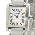 カルティエ Cartier タンクフランセーズSM W51008Q3 中古A品