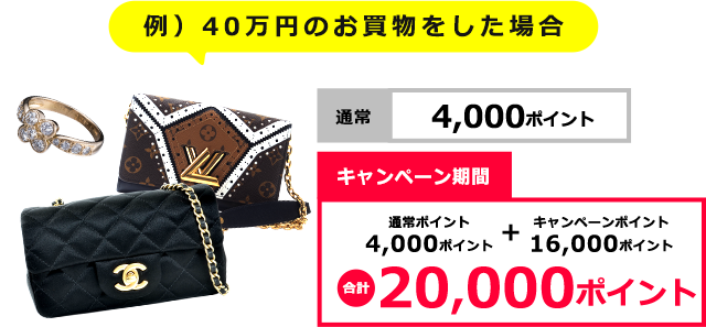 40万円で購入した場合