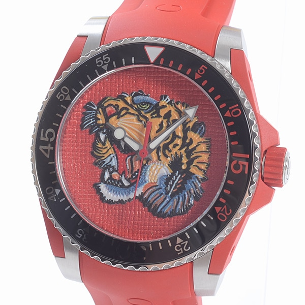 グッチ GUCCI DIVE TIGER YA136315