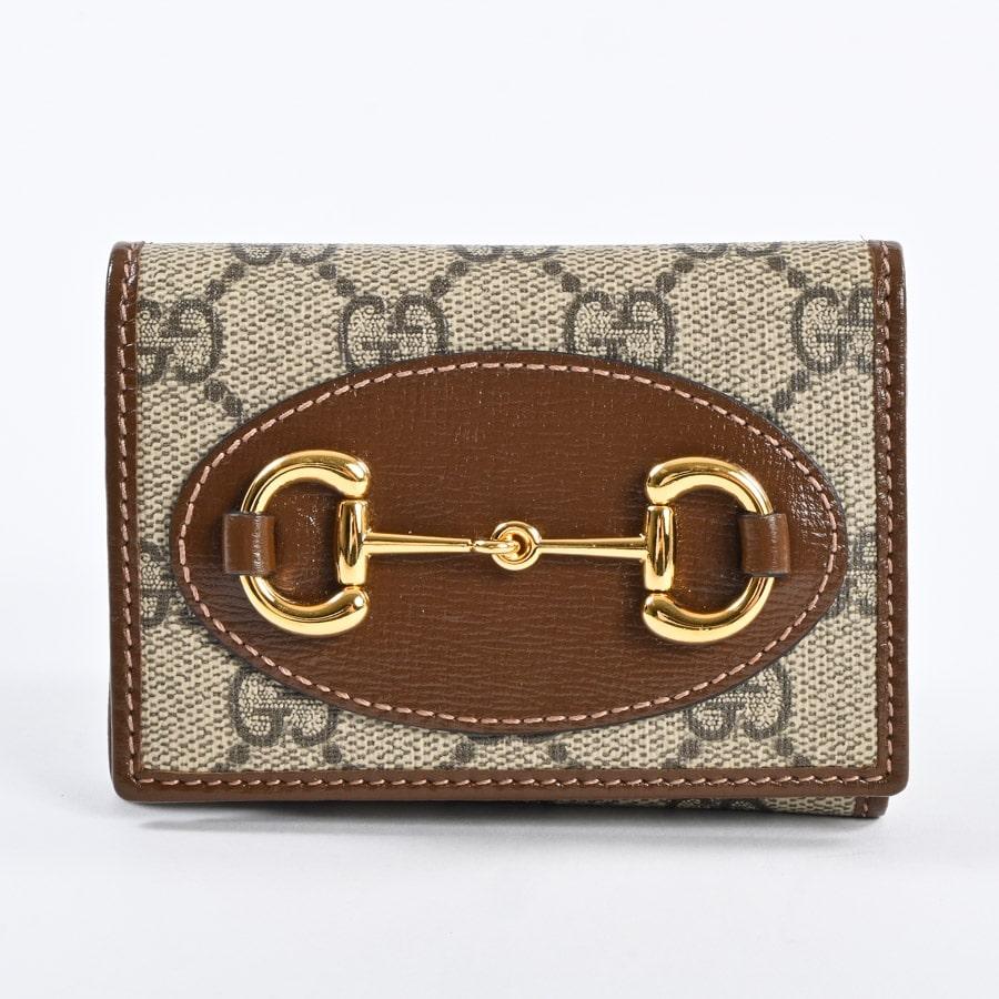 グッチ 三つ折りコンパクト財布