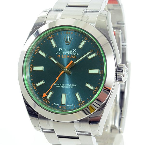 the best attitude b05c1 0aeff ロレックス ROLEX ミルガウス 116400GV メンズ腕時計 新品│新品 ...
