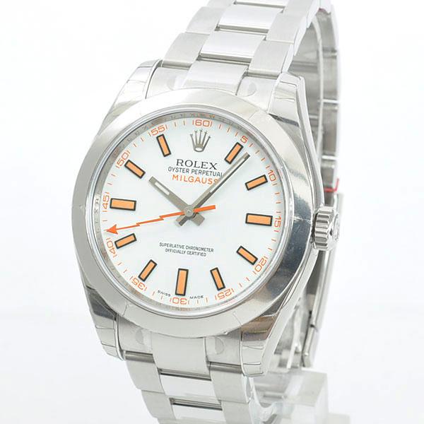 los angeles 8539d 87bcd ロレックス ROLEX ミルガウス 116400 メンズ腕時計 新品│新品 ...