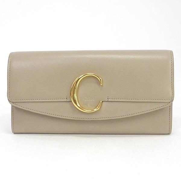 クロエ Chloe 2つ折り式長財布 未使用品