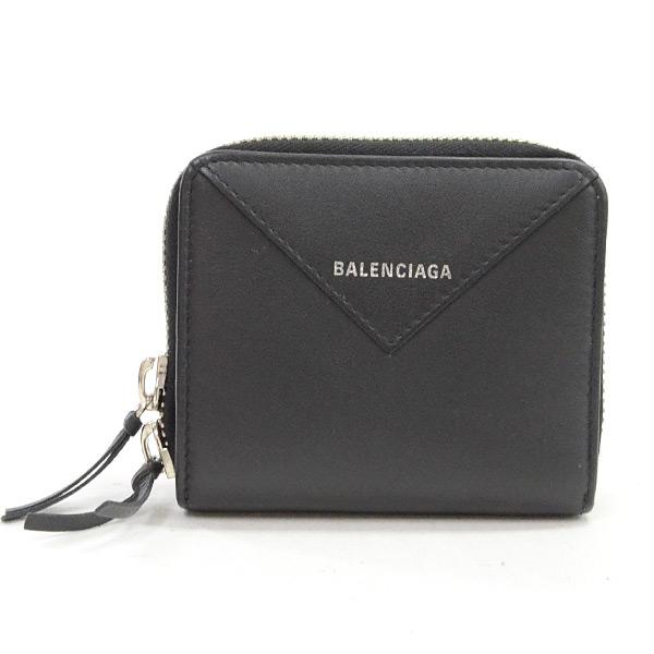バレンシアガ BALENCIAGA 2つ折り式財布 371662 中古A品