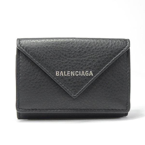 バレンシアガ BALENCIAGA ペーパーミニウォレット 504564 未使用品