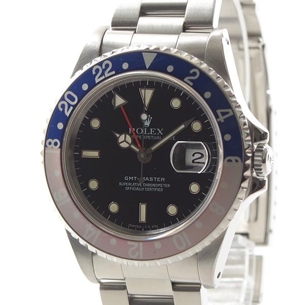 ロレックス ROLEX GMTマスター 16700BL/RD 中古A品