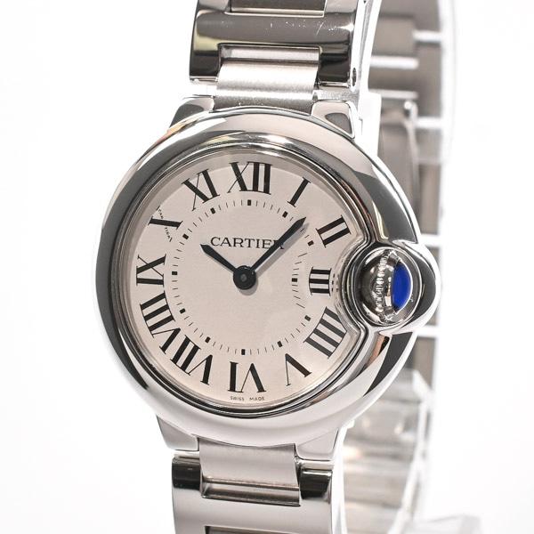 カルティエ Cartier バロンブルーSM W69010Z4 中古A品