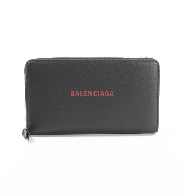 バレンシアガ BALENCIAGA ラウンドファスナー式財布 551935 中古A品