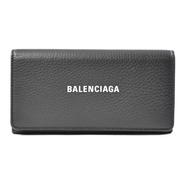 バレンシアガ BALENCIAGA 2つ折り式長財布 555709 中古A品
