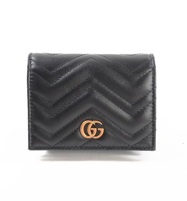グッチ GUCCI 2つ折り式財布 466492 未使用品