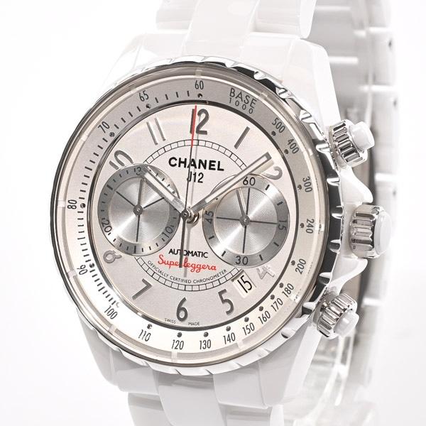シャネル CHANEL J12 スーパーレッジェーラ H3410 中古A品
